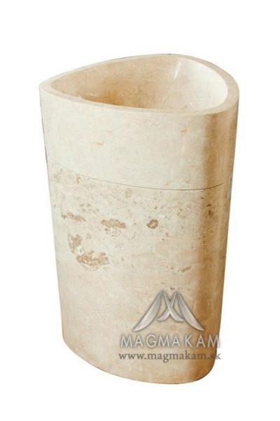 Kamenné umývadlo BALI WHITE