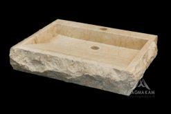Kamenné umývadlo BATAVIA WHITE