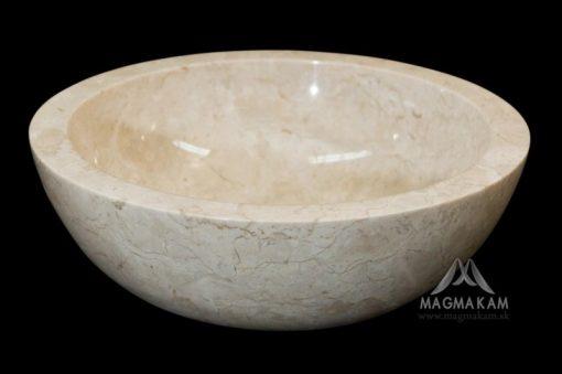 Kamenné umývadlo BORNEO  WHITE