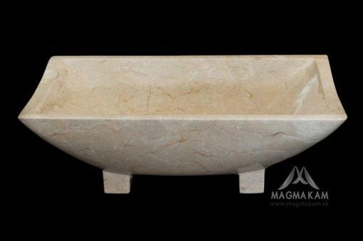 Kamenné umývadlo KOTAKA WHITE