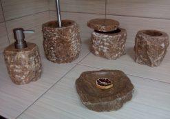 Kamenná kúpeľňová sada NATURAL STONE