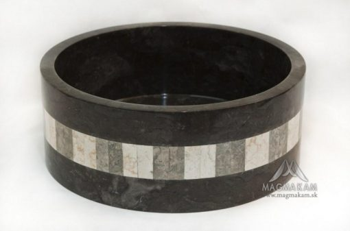 Kamenné umývadlo LOTUS BLACK BIG