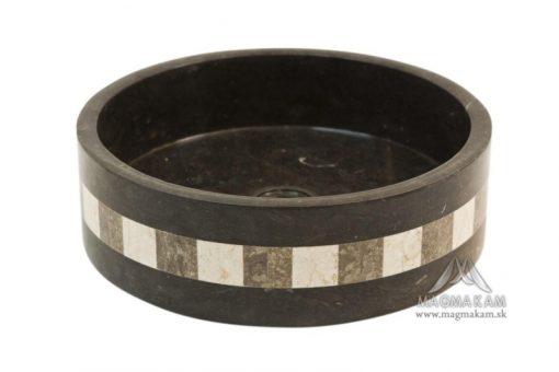 Kamenné umývadlo LOTUS BLACK
