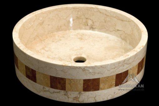 Kamenné umývadlo LOTUS WHITE