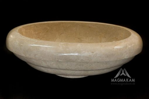 Kamenné umývadlo MARGARITA WHITE