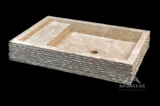 Kamenné umývadlo MARIPATI WHITE