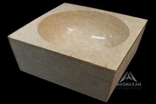Kamenné umývadlo NUSA DUA WHITE