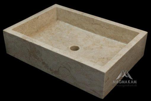 Kamenné umývadlo RITA WHITE