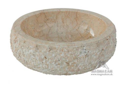 Kamenné umývadlo ROCHER WHITE