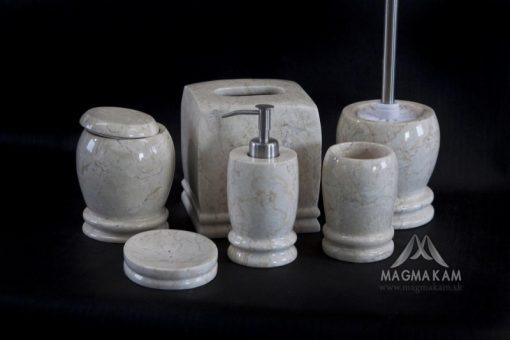 Kamenná kúpeľňová sada TULANGA WHITE
