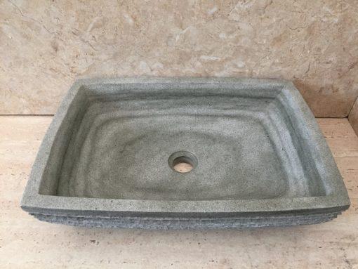 Kamenné umývadlo LILIAS GREEN 50x35x12