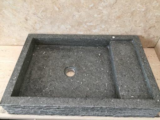 Kamenné umývadlo MARIPATI ANDESIT 60x42x12