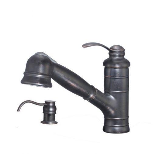 Rustikálna drezová batéria so sprchou ogb